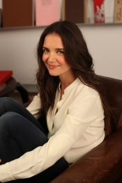 Katie Holmes, the face and muse for Bobbi Brown