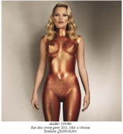 Celebrity news - Kate Moss is being auctioned