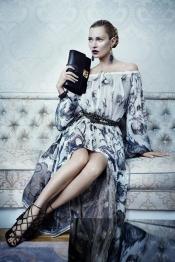 Kate Moss for Ferragamo autumn 2012 campaign
