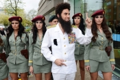 The Dictator visits The Alan Carr Show in London