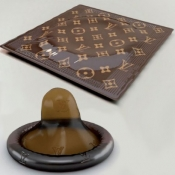 Louis Vuitton condoms, would you try it?