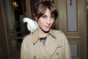 Alexa Chung for Maje. Party up!