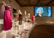 Marilyn Monroe at Ferragamo Museum in Florence