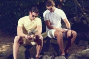 Men fashion trends - Men's shorts get shorter as temperatures soar