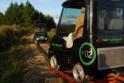 Rail cruise in New Zealand