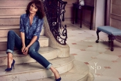 Helena Christensen in the jeans commercial for NYDJ