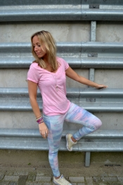 Leggings pastel