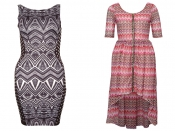 Win one of the two dresses Rare London