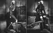 The gothic side of Versace Fall campaign