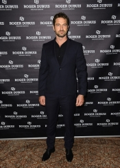 Gerard Butler, Daphne Guinness and Tomer Sisley for Roger Dubuis at SIHH 2013