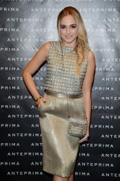 Emanuela Postacchini au Défilé de mode Anteprima a la Semaine de la Mode de Milan