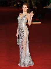 Nathalie Rapti Gomez at the 'Rise Of The Guardians' Premiere during the 7th Rome Film Festival