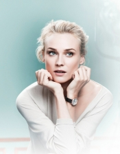 Diane Kruger, the face of Jaeger-LeCoultre Rendez-Vous campaign