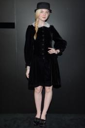 Elle Fanning wears Rupert Sanderson