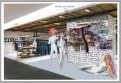 London Art Wall conquers Printemps and celebrates the London Fashion Week