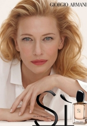 Cate Blanchett for Giorgio Armani fragrance campaign revealed