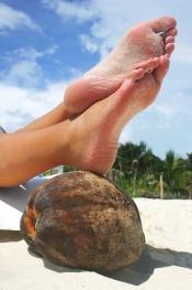 De belles jambes au fil des saisons avec Gillette Venus et Julie Ferrez
