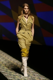 Fashion collection spring summer - Kenzo Women's Spring-Summer 2013 Show