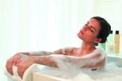 Le soin: l'heure du bain