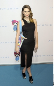 Mischa Barton wearing Hugo Boss