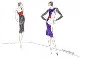 The mystery behind Saint Laurent sketches