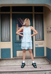 International top model Agyness Deyn for Dr. Martens