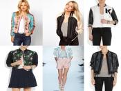 Spring Bomber Jacket trend