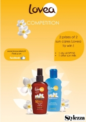 Win beauty products from Lovea