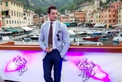 David Gandy joins John Walker and Sons Voyager in Portofino