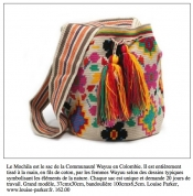 Fashion trend: colombian ethnic and ethic bag