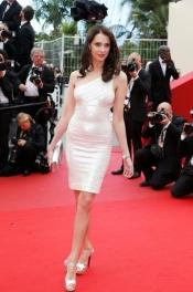 Frédérique Bel at Festival de Cannes