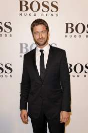 Fashion Runway - HUGO BOSS catwalked at Shanghai with Carey Mulligan and Gerard Butler