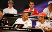 2013 Monaco Grand Prix - Press Conference