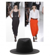 The Victoria Beckham's Fedora hat