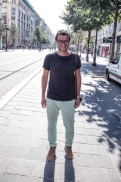 Men Street Style Fashion Trends in Nice