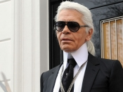Karl Lagerfeld declares his real age