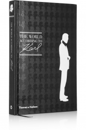 The World According to Karl hardcover book by Karl Lagerfeld