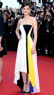 Marion Cotillard in Dior at Festival de Cannes