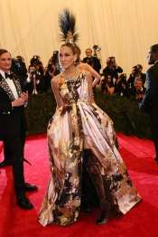 Sarah Jessica Parker at MET: simply amazing