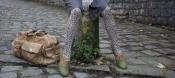 Luc Mouillère a imaginé des sur-chaussures fashion