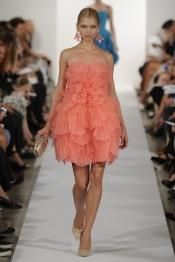 Fashion trends for Spring 2014 from Oscar de la Renta