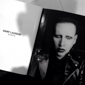 Marylin Manson for Saint Laurent