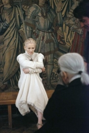 Tilda Swinton, the new face of Chanel