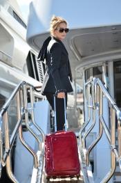 Celebrity trend - Uma Thurman wears Piquadro bag at Festival de Cannes 2013