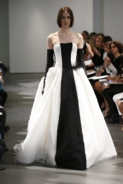 Designer fashion trends - Vera Wang Bridal Spring 2014