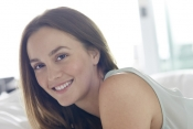 Leighton Meester, the new ambassador for Biotherm