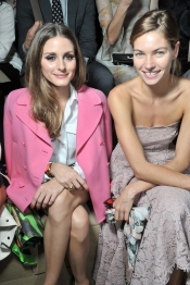 Olivia Palermo, Steve Harvey among the front row celebrities at Valentino