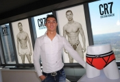 Cristiano Ronaldo launches his underwear collection CR7
