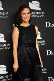 Celebrities are wearing Dior at Guggenheim International Gala