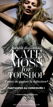 Competition: win clothes from Kate Moss & Topshop collection worth 6500 €